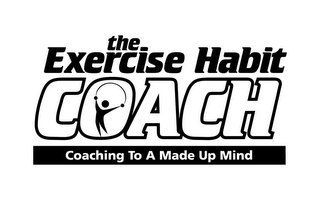 mark for THE EXERCISE HABIT COACH COACHING TO A MADE UP MIND, trademark #85479500