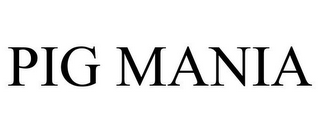 mark for PIG MANIA, trademark #85479518