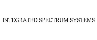 mark for INTEGRATED SPECTRUM SYSTEMS, trademark #85480391
