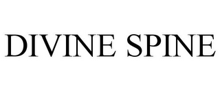 mark for DIVINE SPINE, trademark #85480658