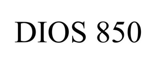 mark for DIOS 850, trademark #85480869