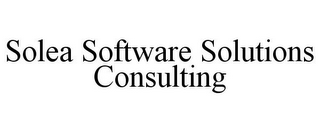 mark for SOLEA SOFTWARE SOLUTIONS CONSULTING, trademark #85480992