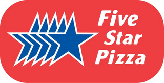 mark for FIVE STAR PIZZA, trademark #85481012