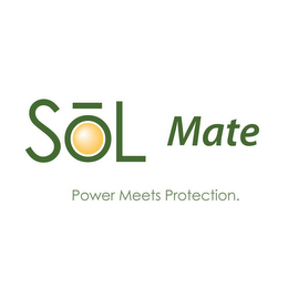 mark for SOL MATE POWER MEETS PROTECTION., trademark #85481110