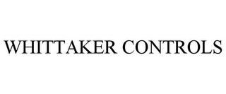 mark for WHITTAKER CONTROLS, trademark #85481121