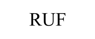 mark for RUF, trademark #85481127