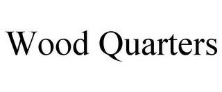 mark for WOOD QUARTERS, trademark #85481221