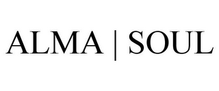 mark for ALMA | SOUL, trademark #85481382