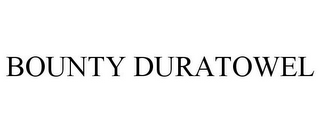 mark for BOUNTY DURATOWEL, trademark #85481556