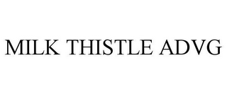 mark for MILK THISTLE ADVG, trademark #85481692