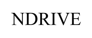 mark for NDRIVE, trademark #85481954