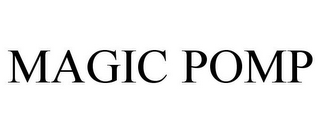 mark for MAGIC POMP, trademark #85481984