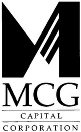 mark for M MCG CAPITAL CORPORATION, trademark #85482335