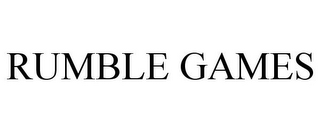 mark for RUMBLE GAMES, trademark #85482821