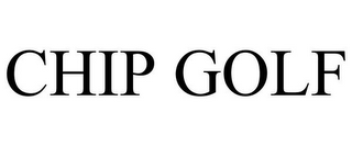 mark for CHIP GOLF, trademark #85483211