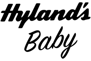 mark for HYLAND'S BABY, trademark #85483602