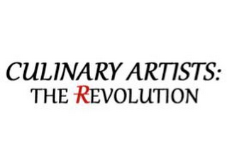 mark for CULINARY ARTISTS: THE REVOLUTION, trademark #85483902