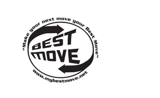 mark for MAKE YOUR NEXT MOVE YOUR BEST MOVE, trademark #85484054