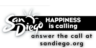 mark for SAN DIEGO HAPPINESS IS CALLING ANSWER THE CALL AT SANDIEGO.ORG, trademark #85484338