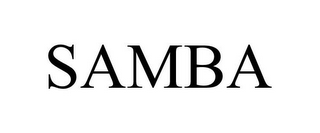 mark for SAMBA, trademark #85485165