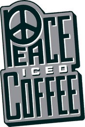 mark for PEACE ICED COFFEE, trademark #85485392