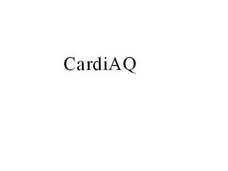 mark for CARDIAQ, trademark #85485401