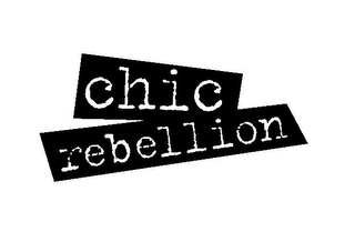 mark for CHIC REBELLION, trademark #85485731