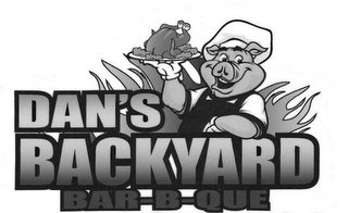 mark for DAN'S BACKYARD BAR-B-QUE, trademark #85485744