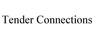 mark for TENDER CONNECTIONS, trademark #85485859
