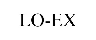 mark for LO-EX, trademark #85486135