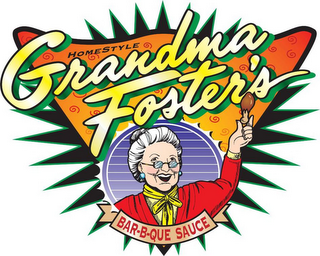 mark for HOMESTYLE GRANDMA FOSTER'S BAR-B-QUE SAUCE, trademark #85486167