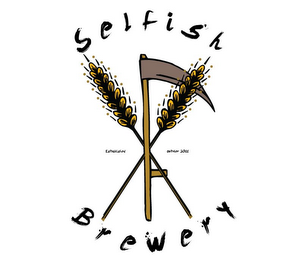 mark for SELFISH BREWERY ESTABLISHED OCTOBER 2011, trademark #85486448