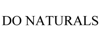 mark for DO NATURALS, trademark #85486831