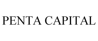 mark for PENTA CAPITAL, trademark #85486892