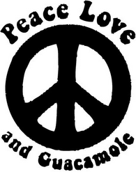 mark for PEACE LOVE AND GUACAMOLE, trademark #85487014