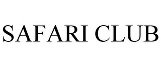 mark for SAFARI CLUB, trademark #85487122
