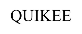 mark for QUIKEE, trademark #85487163