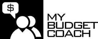 mark for MY BUDGET COACH $, trademark #85487300