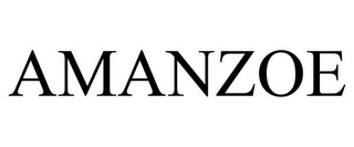 mark for AMANZOE, trademark #85487332