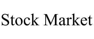 mark for STOCK MARKET, trademark #85487570