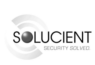 mark for SOLUCIENT SECURITY SOLVED., trademark #85488679