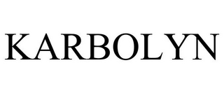 mark for KARBOLYN, trademark #85488877