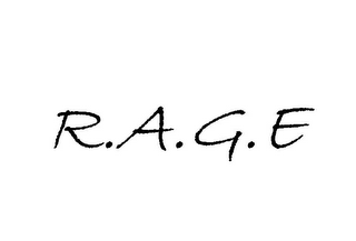 mark for R.A.G.E, trademark #85489274