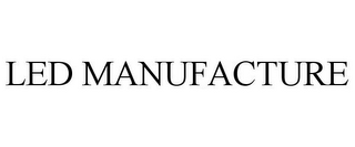 mark for LED MANUFACTURE, trademark #85489569