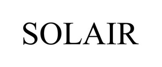 mark for SOLAIR, trademark #85489625