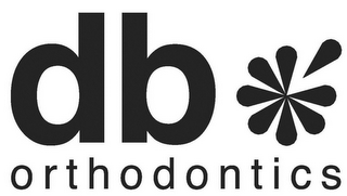 mark for DB ORTHODONTICS, trademark #85490510