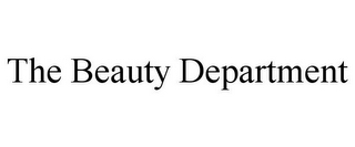 mark for THE BEAUTY DEPARTMENT, trademark #85491115