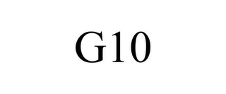 mark for G10, trademark #85491602