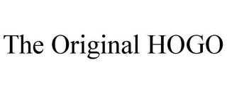 mark for THE ORIGINAL HOGO, trademark #85491660