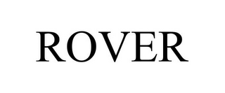 mark for ROVER, trademark #85491744